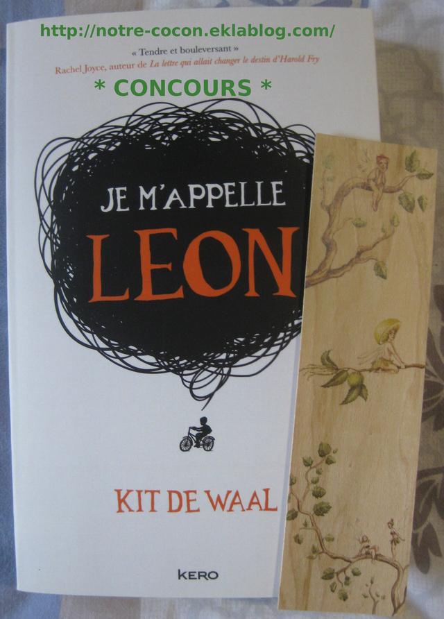"""* Concours * """"Je m'appelle Léon"""""""