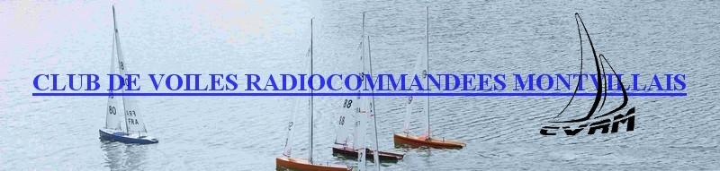 Voile radiocommandée montvillais