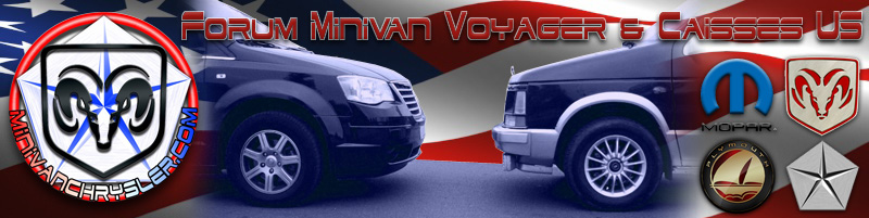 Forum des minivans Chrysler Voyager et caisses US