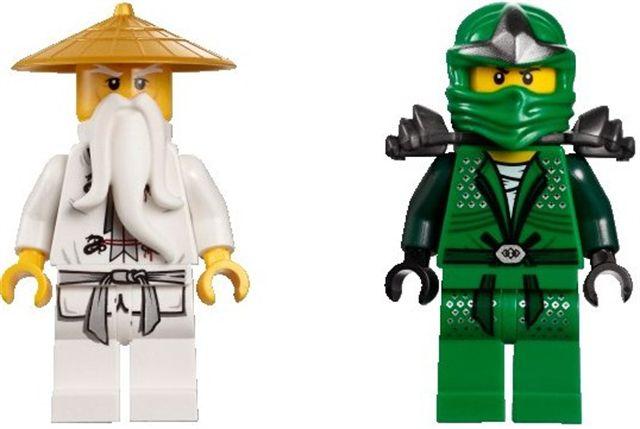 Ninjago - Coloriage de ninjago vert ...
