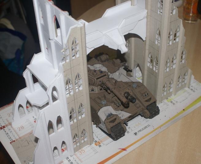 Fabrication table de jeu for Decor 40k
