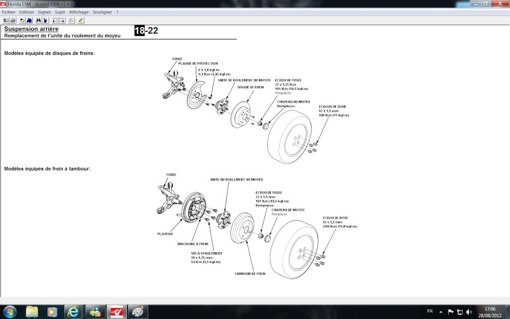 h a p consulter le sujet roulement de roues accord gen 6. Black Bedroom Furniture Sets. Home Design Ideas
