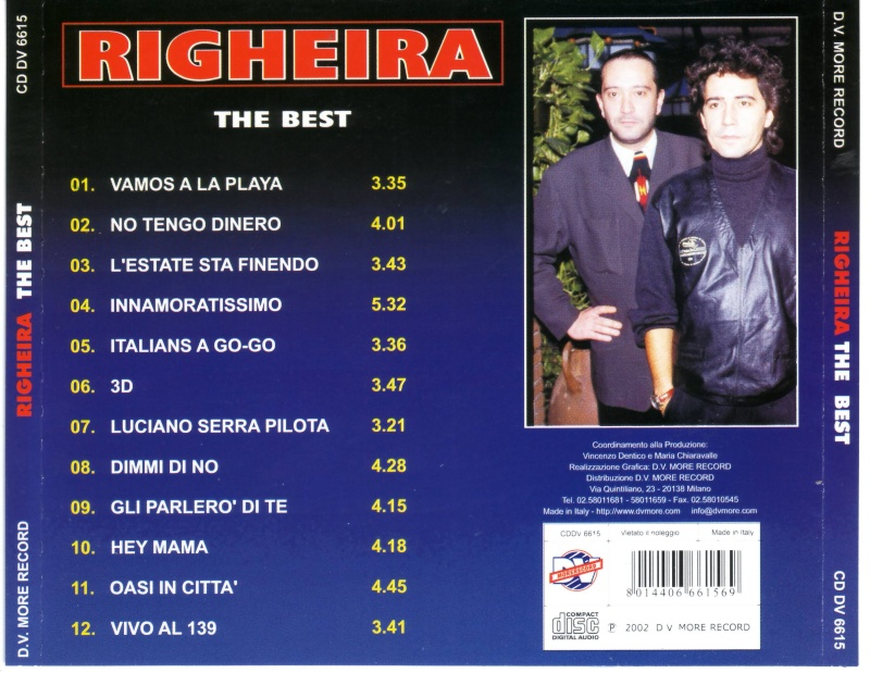 Righeira - The Best