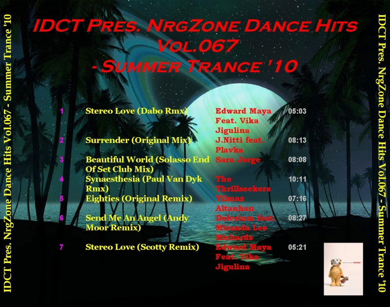 NrgZone Dance Hits Vol.067 - Summer Trance '10