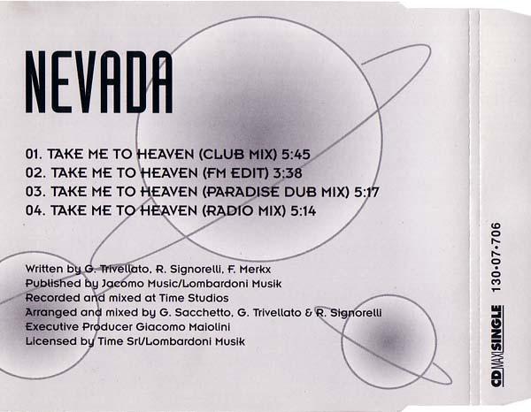Nevada - Take Me To Heaven - Maxi