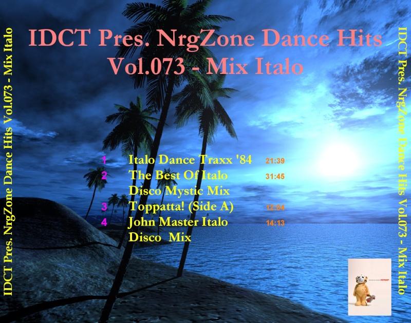 NrgZone Dance Hits Vol.073 - Mix Italo