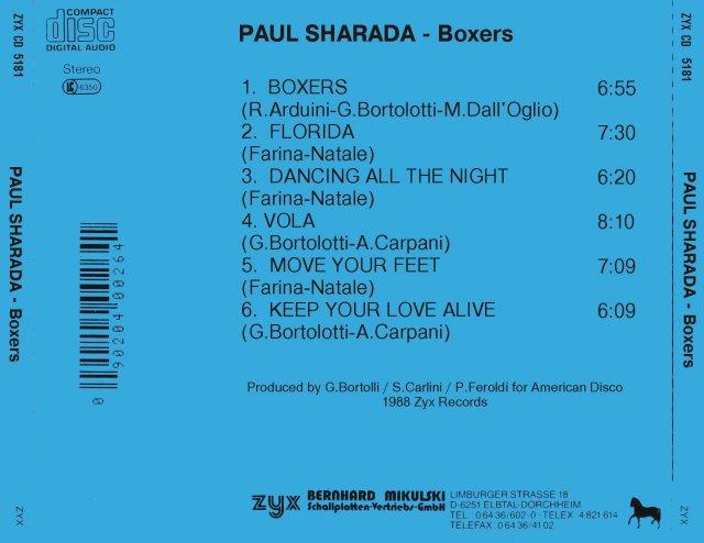 Paul Sharada -  Boxers