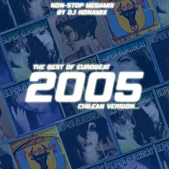 Best Of Eurobeat 2005 - Megamix By DJ Konamix