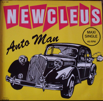 Newcleus - Automan 12''