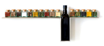 etag re pices line spice rack by desu design. Black Bedroom Furniture Sets. Home Design Ideas