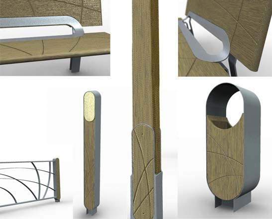 Mobilier urbain by oxone environnement - Mobilier urbain design ...