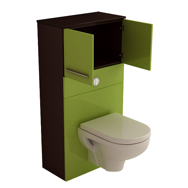 wc meuble wc suspendu chez aubade. Black Bedroom Furniture Sets. Home Design Ideas