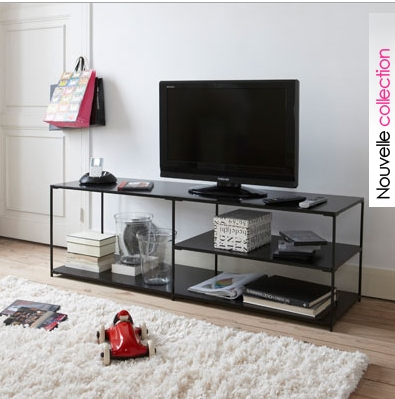 meuble tv parafe la redoute. Black Bedroom Furniture Sets. Home Design Ideas