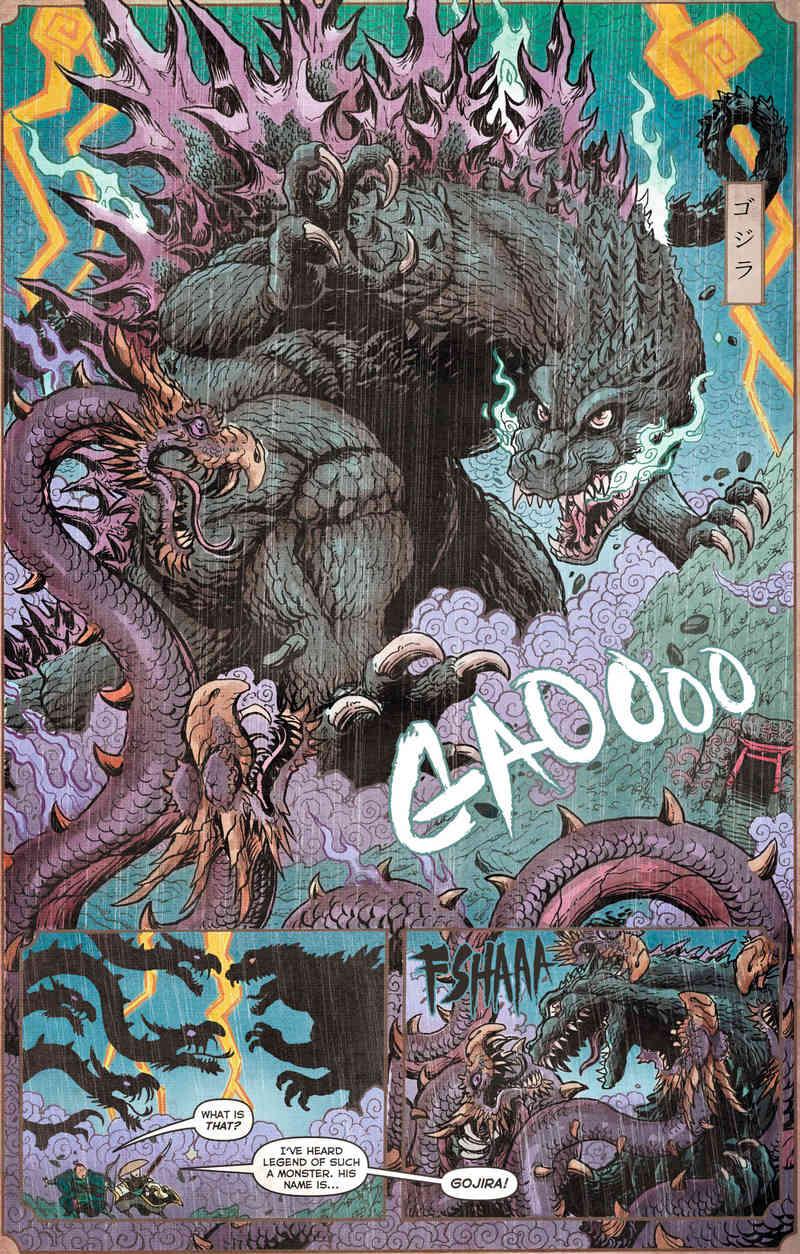 Godzilla Vs Orochi