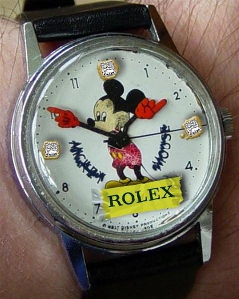 rolex mickey