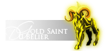 ■ Saint ■|Gold Cloth du Bélier|