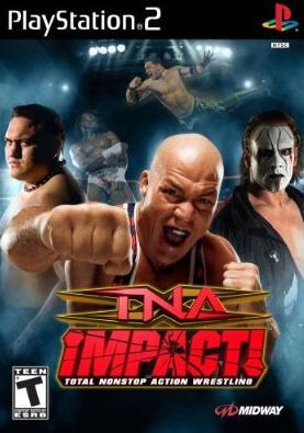 TNA Impact EnglishPS2DVD CoM t4372 preview 0