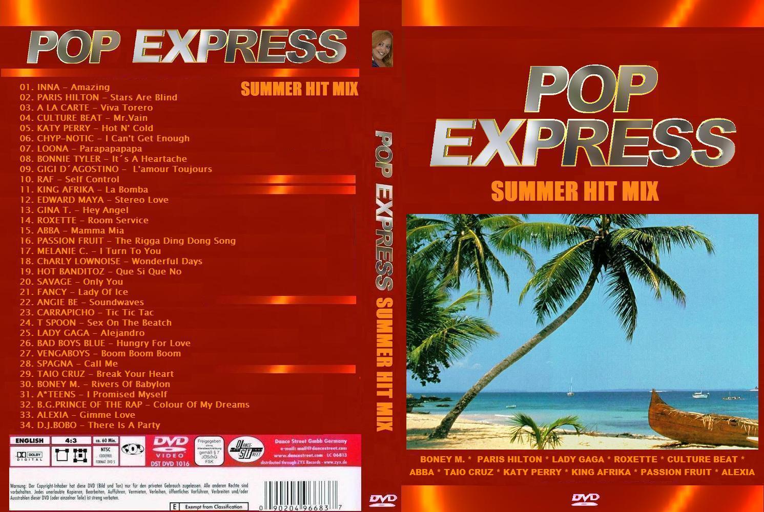 POP EXPRESS HITS - Summer Hit Mix (2010)