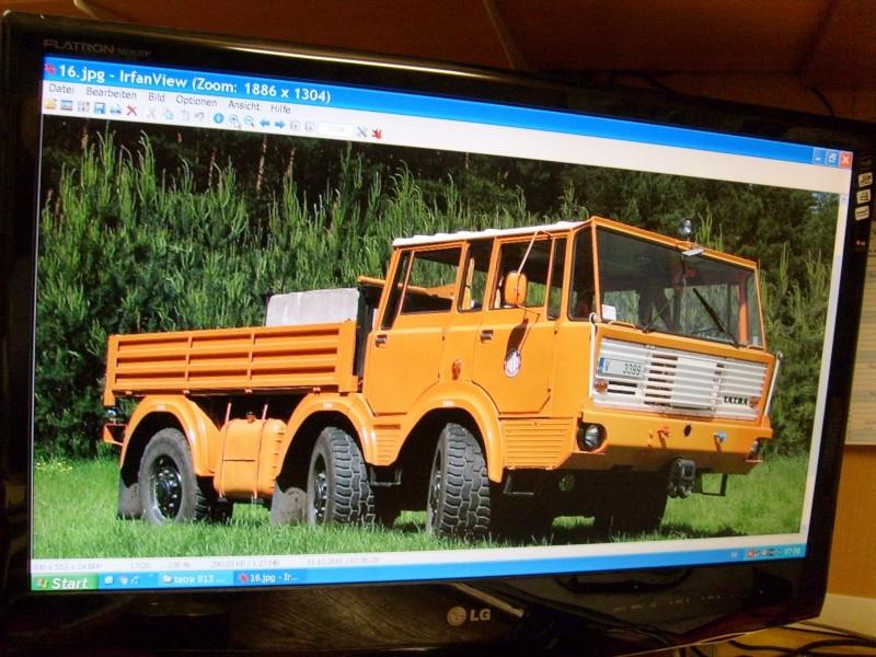 LKW TATRA 813 6x6 M1:20 Eigenbau gebaut von klebegold