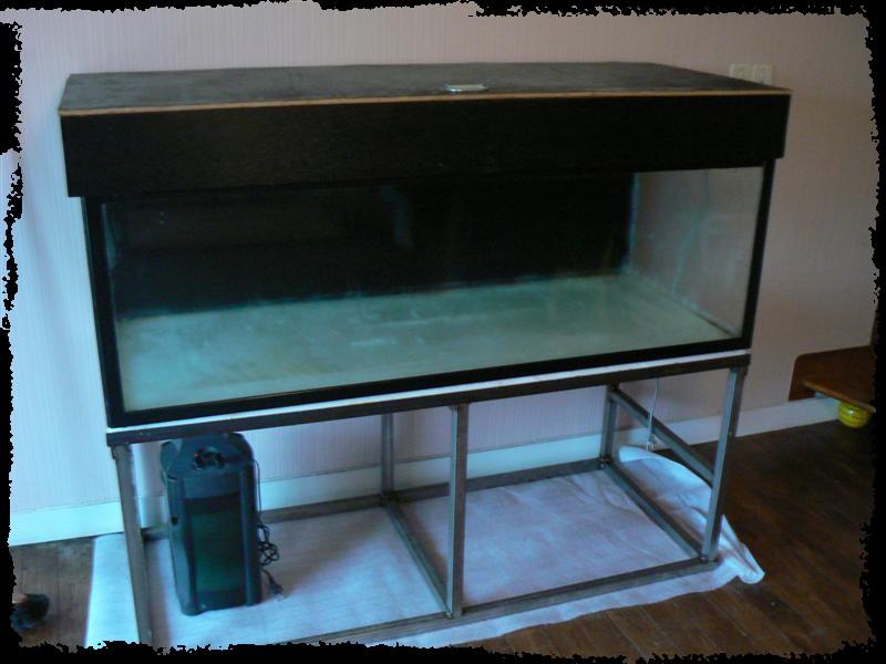 Projet bac 450l pour l333 for Bac a poisson 2000l