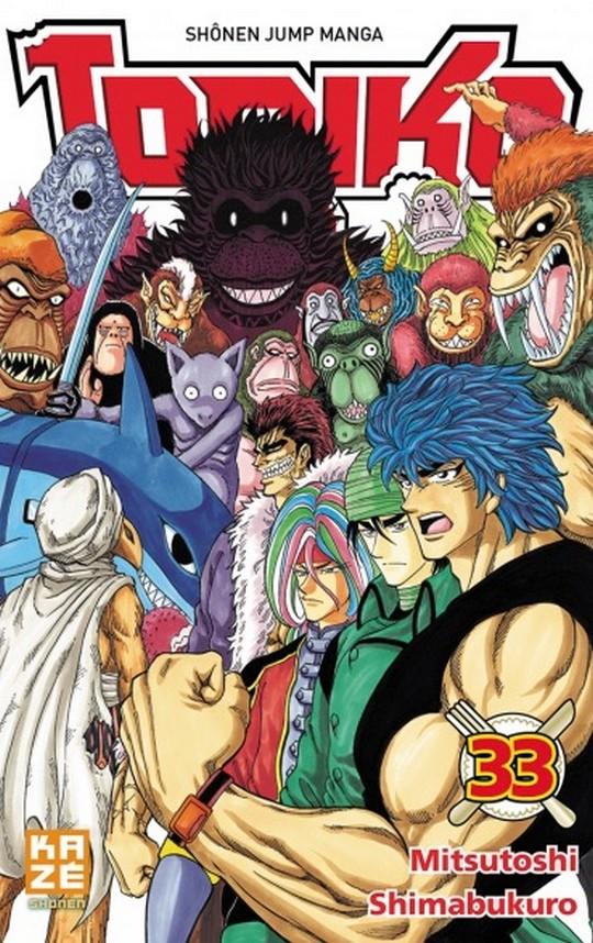 Mitsutoshi Shimabukuro, Toriko, Manga, Actu Manga, Weekly Shonen Jump, Shueisha,