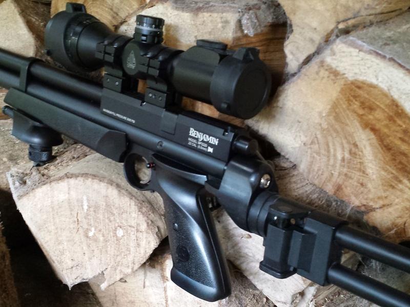 MarauderAirRifle com • View topic - Marauder pistol folding