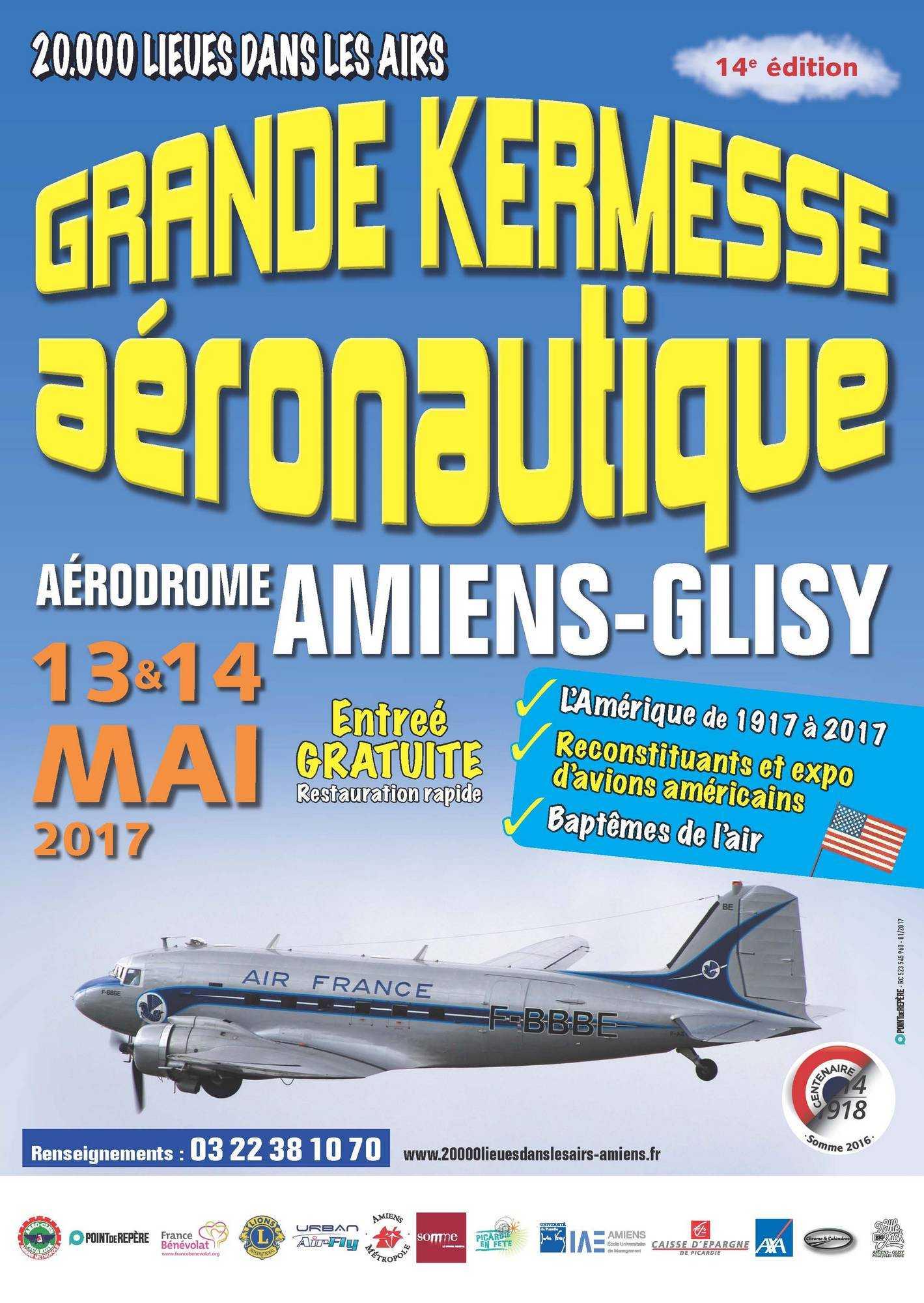 20000 lieues dans les airs 2017 ,Picardie , aérodrome d'Amiens Glisy , Meeting Aerien 2017 , French Airshow 2017