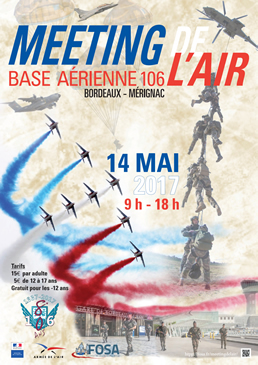 Meeting de l'Air Base aérienne 106 Bordeaux-Mérignac 13-14 Mai , Meeting de l'Air , Meeting Aerien 2017, Airshow 2017, French Airshow 2017
