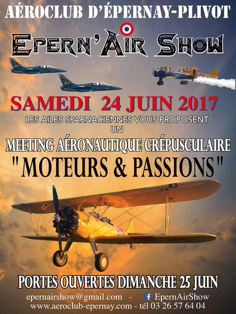 Epern'Air Show 2017, Sunset , aérodrome Epernay , Meeting Aerien Champagne 2017, Airshow 2017, French Airshow 2017