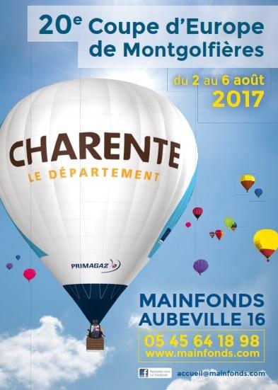 La 20ème Coupe d'Europe de Montgolfières 2017 ,Mainfonds Aubeville 2017, Meeting Aerien 2017, Airshow 2017, French Airshow 2017