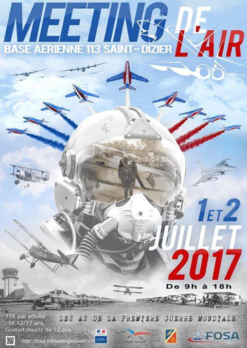 Meeting Aerien BA-113 st dizier 2017 , meeting de l'air ba 133 saint dizier, Meeting Aerien 2017, Airshow 2017, French Airshow 2017