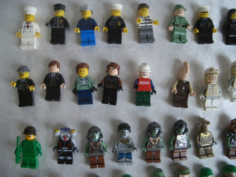 Enorme lot 126 personnages lego star wars ebay - Personnage star wars lego ...