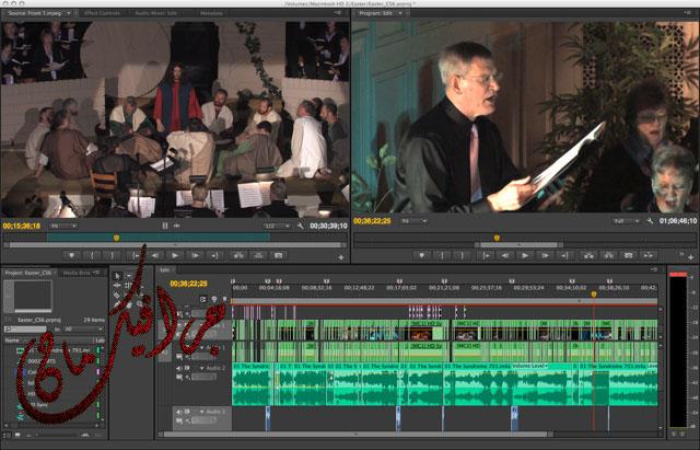 ������ �������� ������ Adobe Premiere Pro CS6