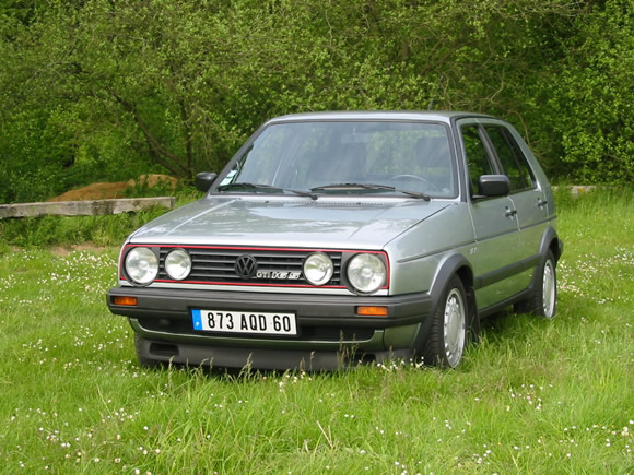 volkswagen golf 2 gti 16s de 1987. Black Bedroom Furniture Sets. Home Design Ideas