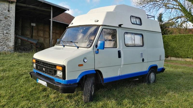 citroen c25 camping car diesel 6 places. Black Bedroom Furniture Sets. Home Design Ideas