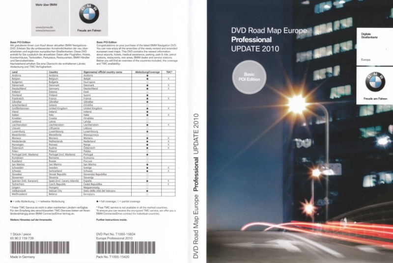 dvd de mise jour gps page 3 forum ma bmw. Black Bedroom Furniture Sets. Home Design Ideas
