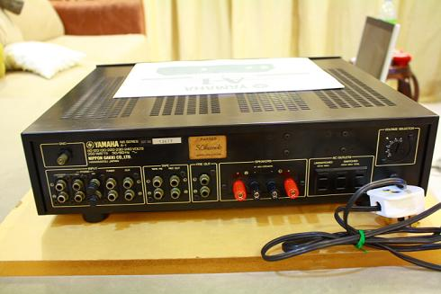 Yamaha a 1 integrated amplifier used for Yamaha audio customer service