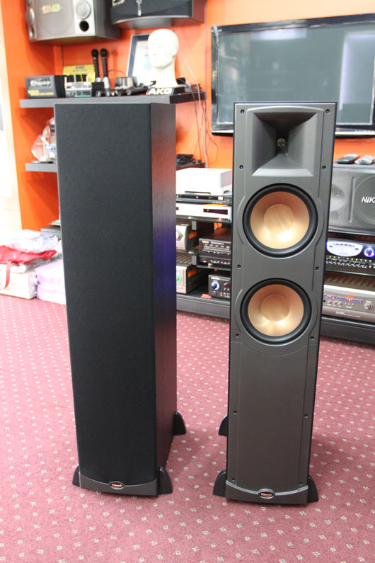 klipsch rf 82 floor standing speaker sold. Black Bedroom Furniture Sets. Home Design Ideas