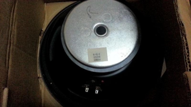 klipsch klf 30. -k-31-k 12 inch for klf-30, rm450 each. -condition 9.5/10, brand new opened box. -serious buyer call 0168833783 klipsch klf 30 0