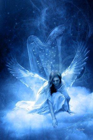 ange1110 dans fond ecran anges bleus