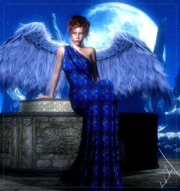 dans fond ecran anges bleus ange_b12