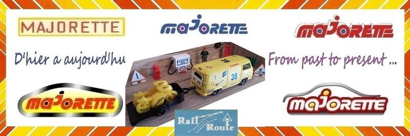 MAJORETTE ET RAIL ROUTE
