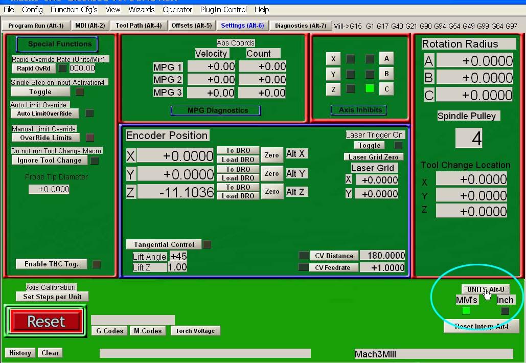 CamBam + Mach3 + Taig Mill