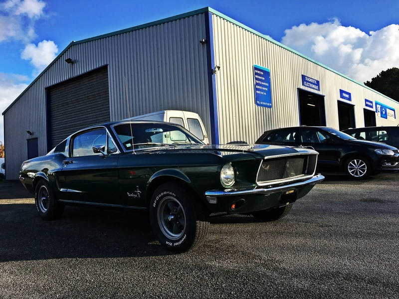 Mustang crois es sur nos routes ford for Garage ford metz borny