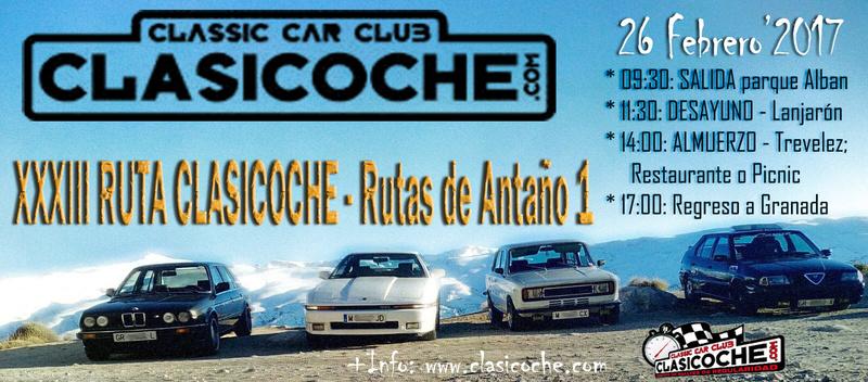 ••• CLASSIC CAR CLUB CLASICOCHE •••