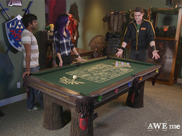 Comment cr er une table de billard zelda - Comment fabriquer une table de billard ...