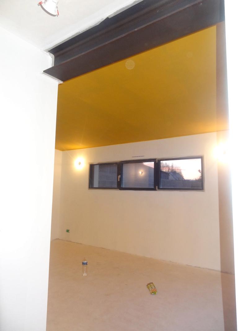 peinture moutarde et bleu p trole. Black Bedroom Furniture Sets. Home Design Ideas