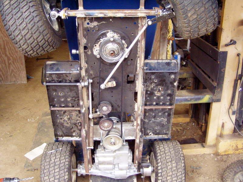 Mower Pulley Build Racing Lawn Murray Wwwpicsbudcom