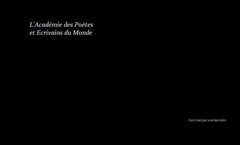 Poètes et écrivains du Monde