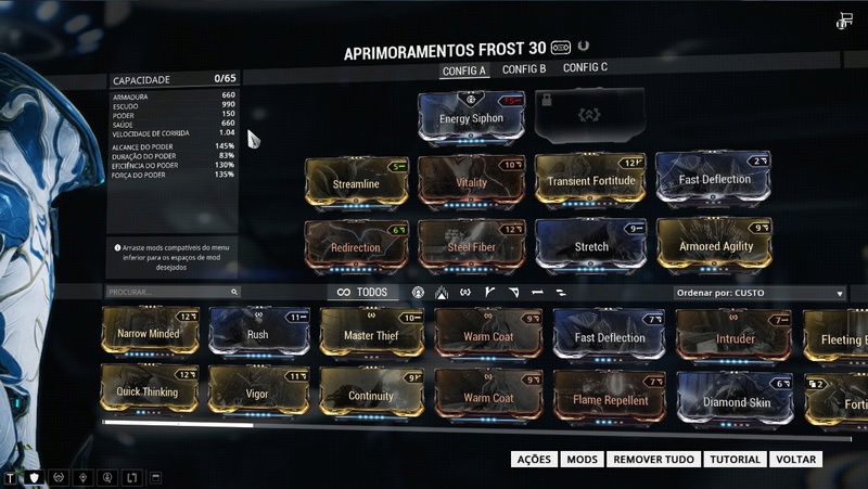 How to transform Frost into a Tank warframe? - Players helping